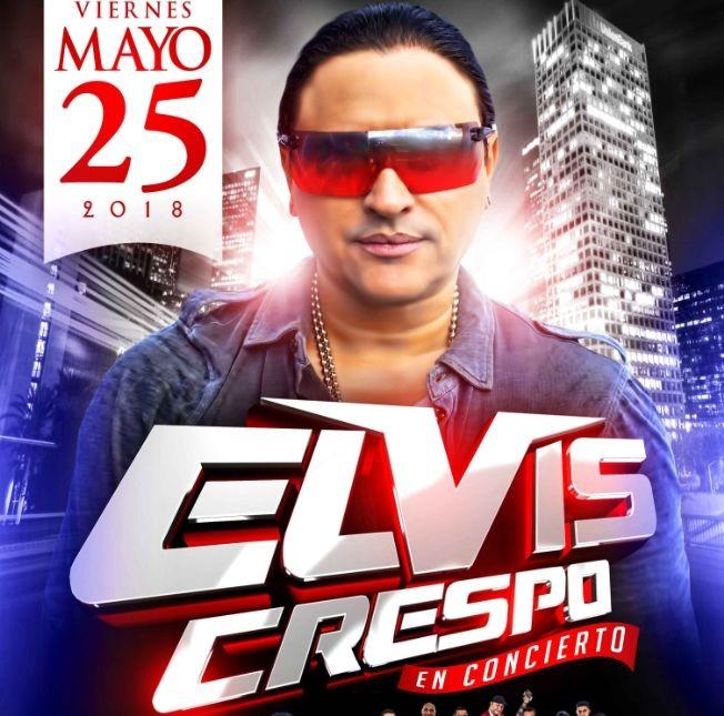 Flyer for Elvis Crespo en Los Angeles