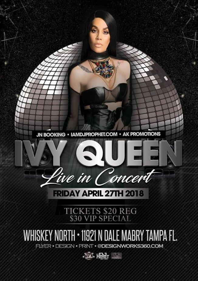 Flyer for Ivy Queen