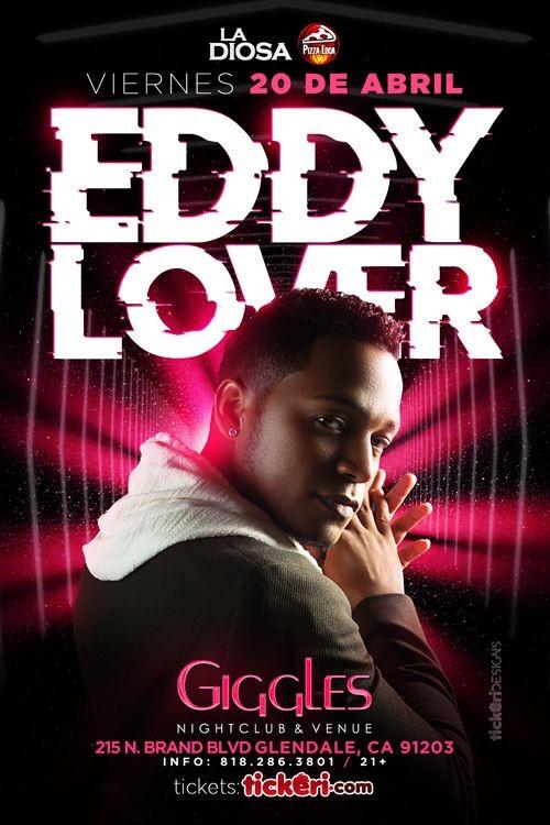 Flyer for EDDY LOVER EN LOS ANGELES