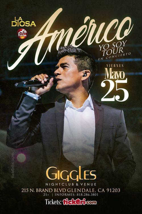 Flyer for AMERICO EN LOS ANGELES
