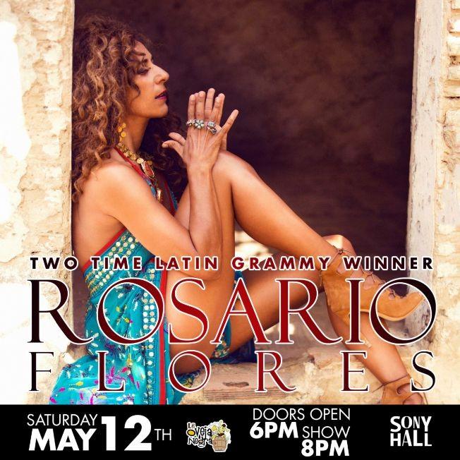 Flyer for Rosario Flores