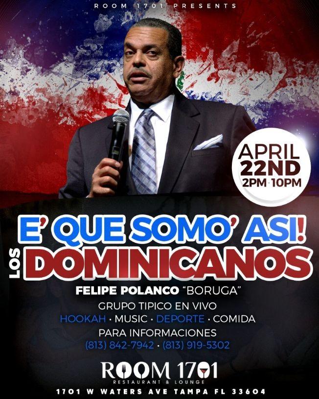 "Flyer for Felipe Polanco ""Boruga"""