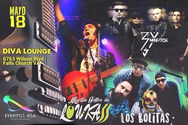 Flyer for Martin Joffre Loukass, Los Bolitas, Tres minutos