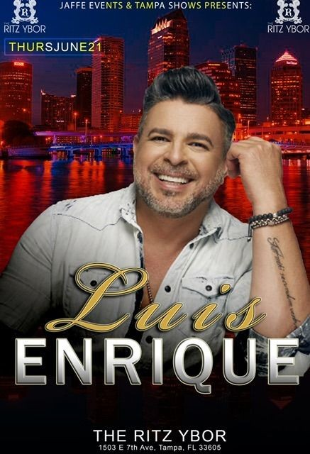 Flyer for Luis Enrique en Tampa,FL-CANCELADO