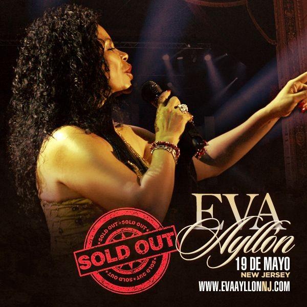 Flyer for *SOLD OUT* Eva Ayllon en Wayne,NJ