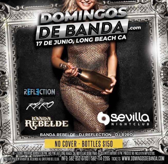 Flyer for CELEBRA EL DIA DEL PADRE CON BANDA - LA REBELDE DE SINALOA & BANDA SINALOENSE DE LOS ANGELES