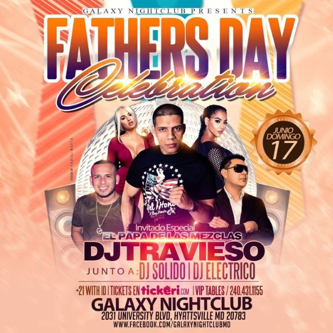 Flyer for FATHERS DAY CELEBRATION