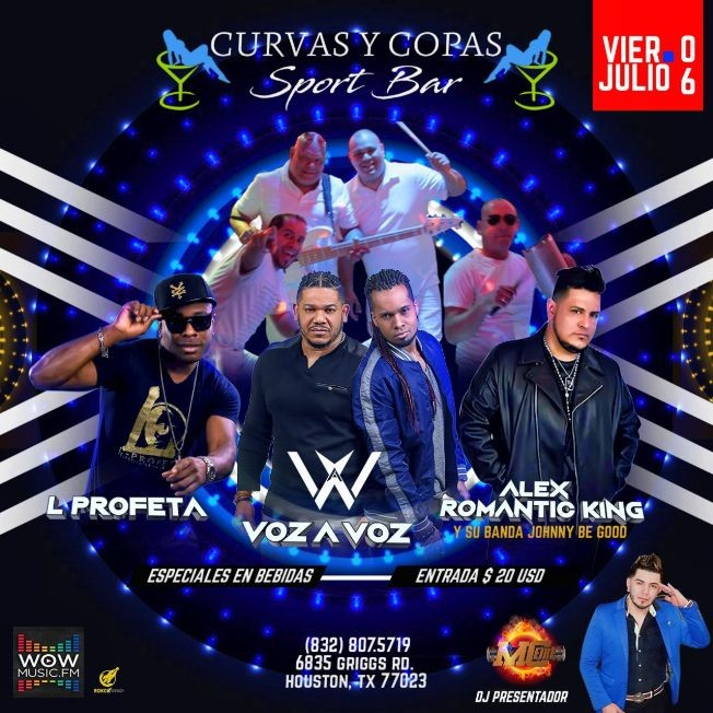 Flyer for CRAN INGNAURACION DE CURVAS Y COPAS SPORT BAR