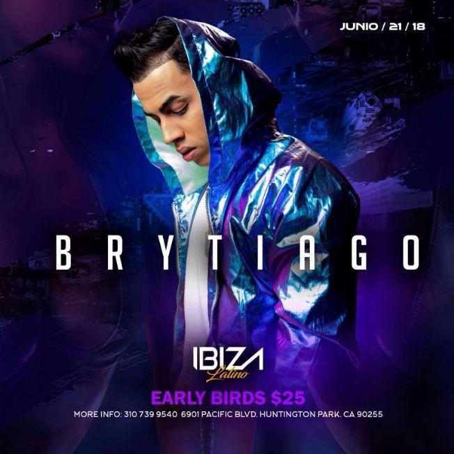 Flyer for Brytiago en Huntington Park,CA