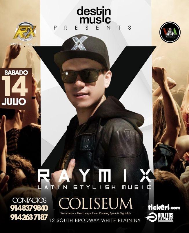 Flyer for Raymix en White Plains NY