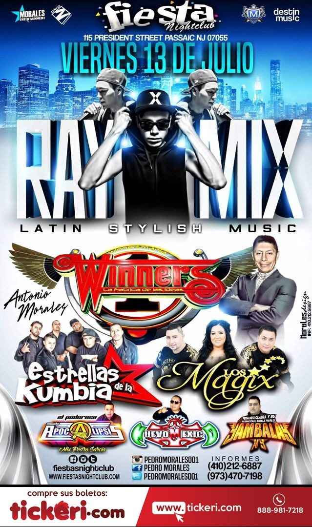 Flyer for Raymix en Passaic NJ