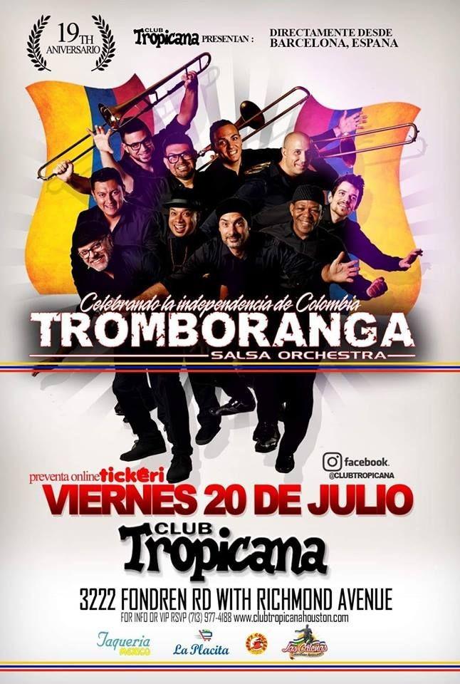 Flyer for Tromboranga