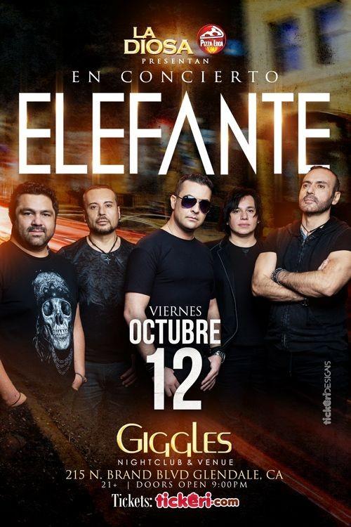 Flyer for ELEFANTE EN LOS ANGELES