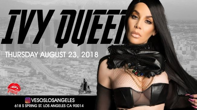 Flyer for Vesos Presents: Ivy Queen (Live) (Tickets Will Be Available At The Door)