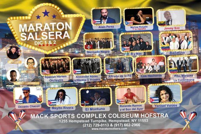 Flyer for Maraton Salsera-CANCELED