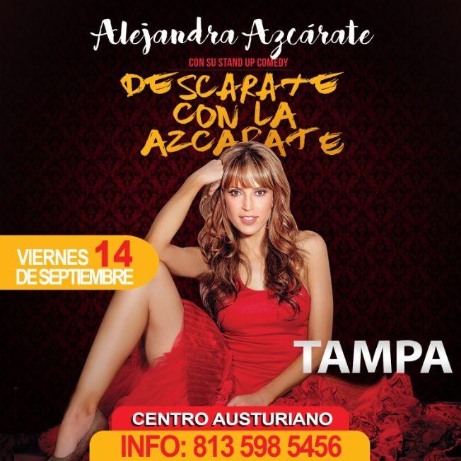 Flyer for DESCARATE CON LA AZCARATE