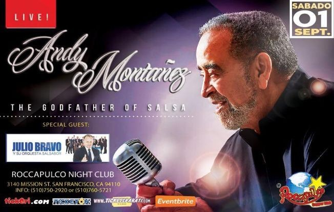Flyer for ANDY MONTAÑEZ