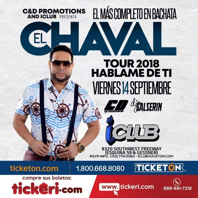 Flyer for El Chaval Houston,TX