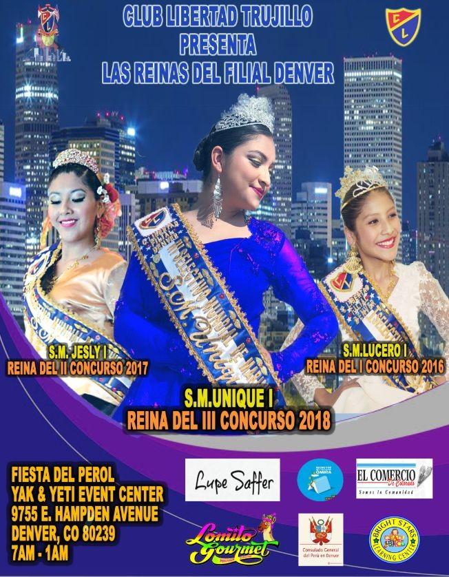 Flyer for FIESTA DEL PEROL 2018