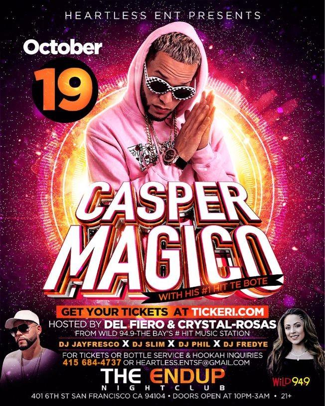 Flyer for Casper Magico