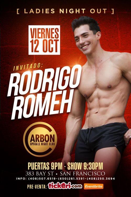 Flyer for Rodrigo Romeh en San Francisco