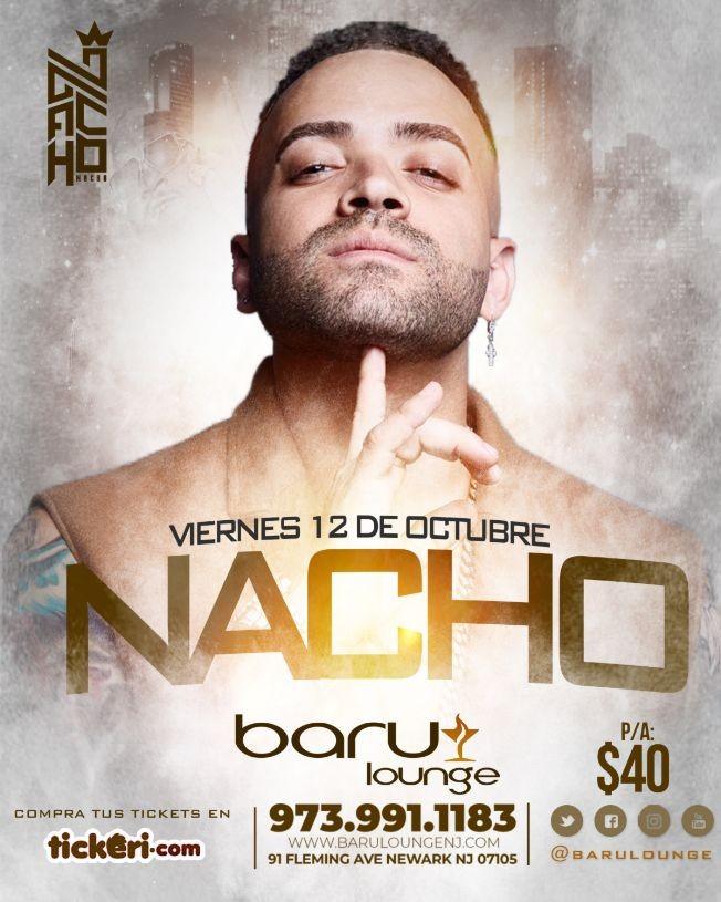 Flyer for Nacho en New Jersey