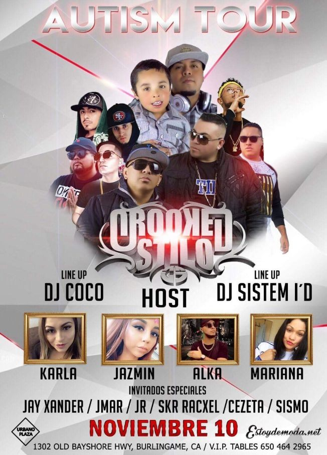 Flyer for DJ MARROQUIN PRESENTA CROOKED STILO