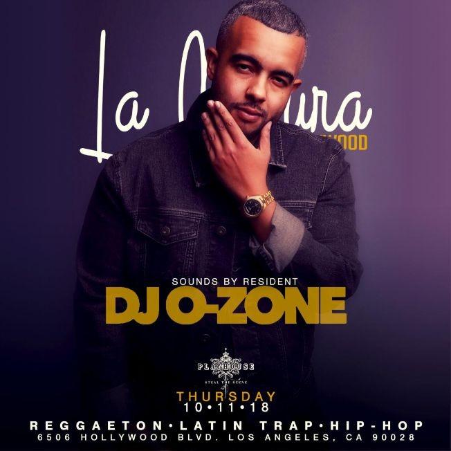 Flyer for La Cultura Thursdays #1 Latin CLub in LA