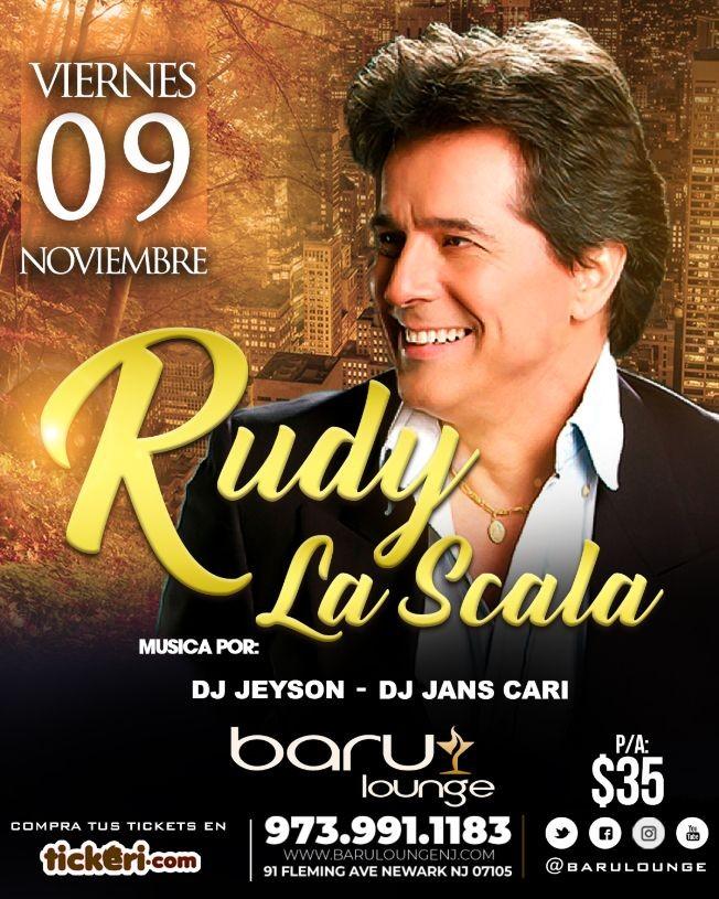 Flyer for Rudy La Scala en New Jersey