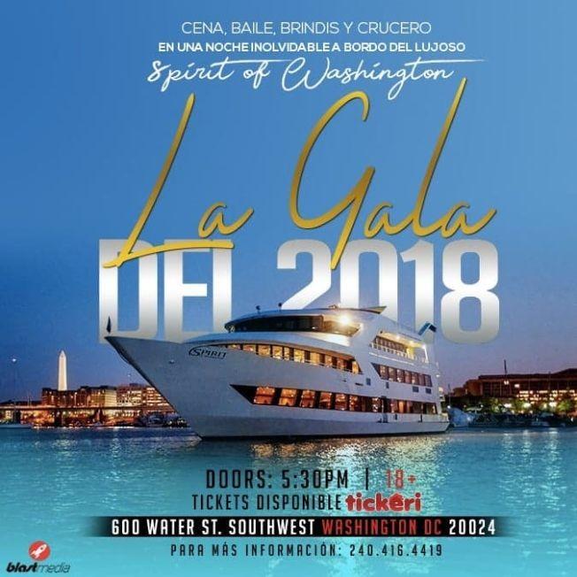 Flyer for La Gala del 2018