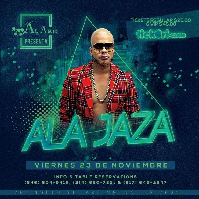 Flyer for Ala Jaza-CANCELADO