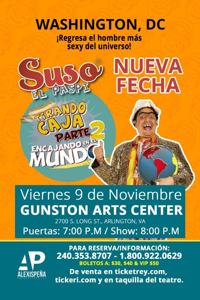 Flyer for Suso El Paspi