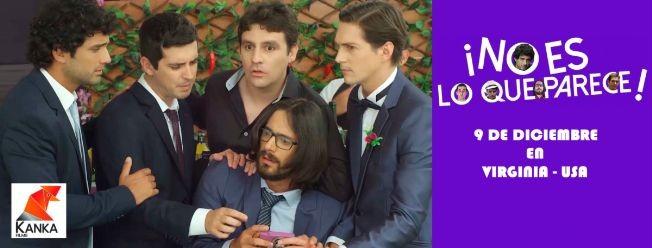 """Flyer for Estreno comedia peruana  """"¡No es lo que parece!"""""""