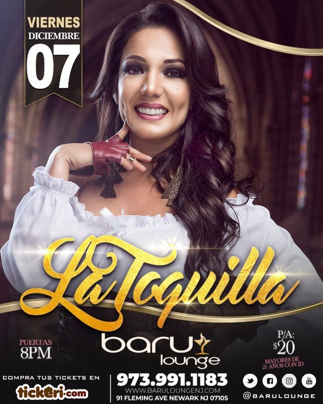 Flyer for LA TOQUILLA