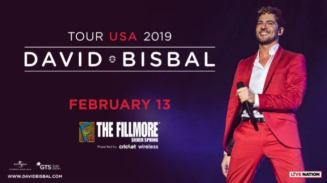 Flyer for David Bisbal