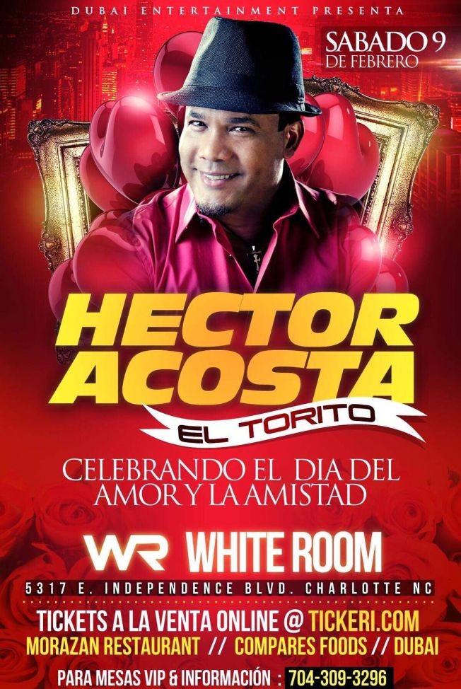 Flyer for Hector Acosta-CANCELADO