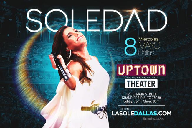 Flyer for Soledad en Dallas