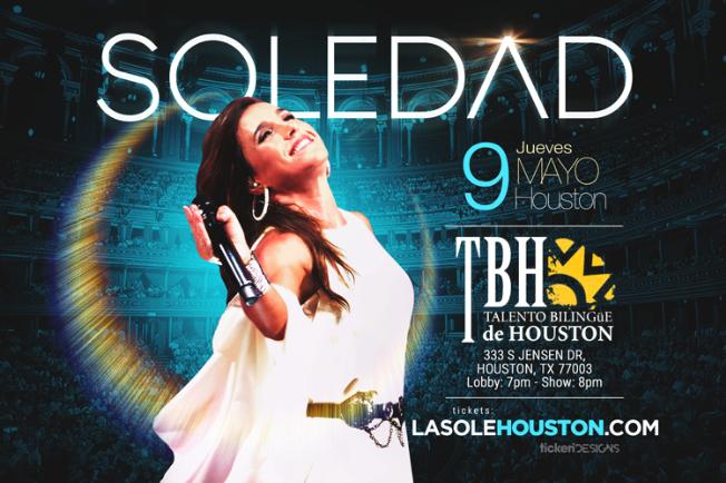 Flyer for Soledad en Houston