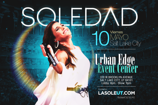 Flyer for Soledad en Salt Lake City