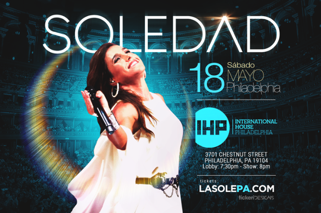 Flyer for Soledad en Philadelphia