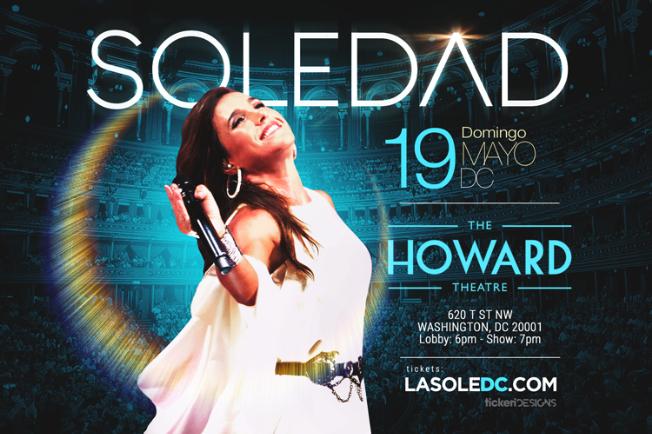 Flyer for Soledad en Washington DC