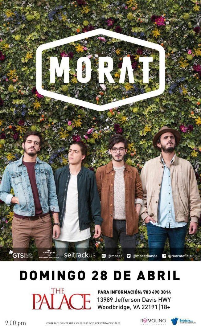 Flyer for Morat en Woodbridge,VA