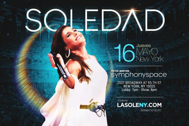 Flyer for Soledad en New York