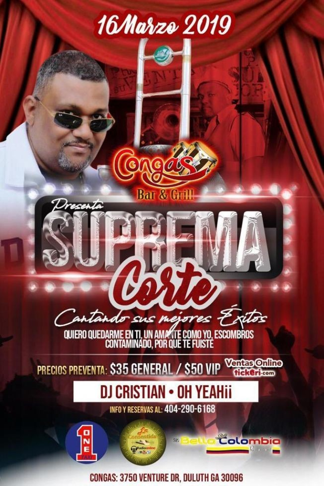 Flyer for Suprema Corte