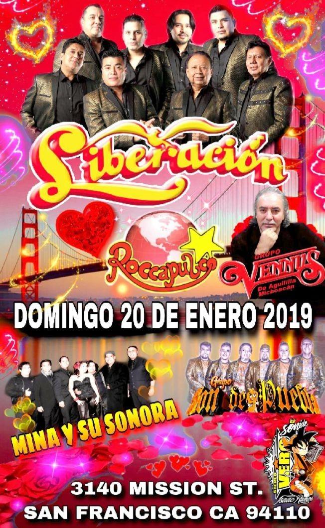 Flyer for Liberación