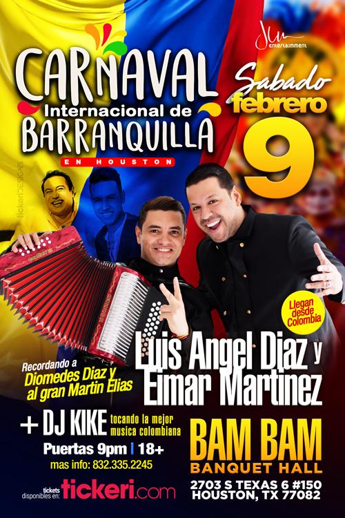 Flyer for Carnaval Internacional de Barranquilla TICKETS DISPONIBLES EN LA PUERTA