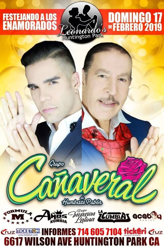 Flyer for Grupo Canaveral