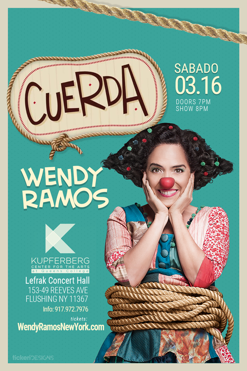 Flyer for Wendy Ramos en New York