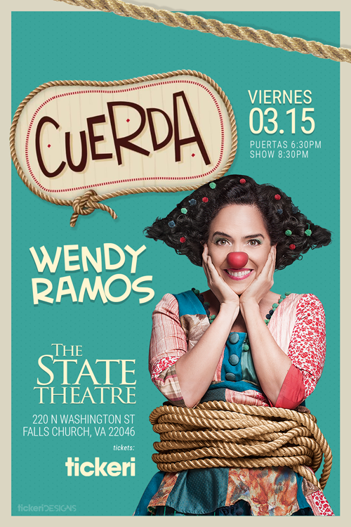 Flyer for Wendy Ramos en el DMV