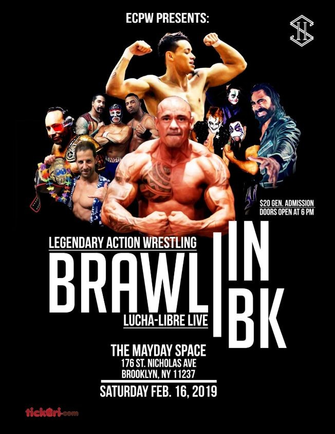 Flyer for Brawl in Brooklyn